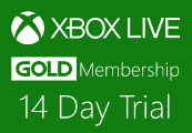 Xbox 360 Live 14 Day Gold Trial Membership