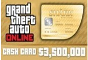 Grand Theft Auto Online: The Whale Shark Cash Card - 3.500.000$ PC Activation Code