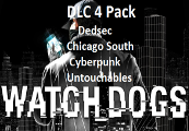 Watch Dogs - Dedsec, Chicago South, Cyberpunk Player, The Untouchables Packs UPlay Key
