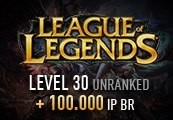 League of Legends Account – Level 30 – Unranked + 100.000 IP BR