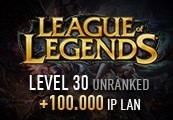 League of Legends Account – Level 30 – Unranked + 100.000 IP LAN