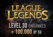 League of Legends Account – Level 30 – Unranked + 100.000 IP TR