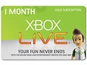 Xbox One LIVE EU 1 Month Gold Subscription Card