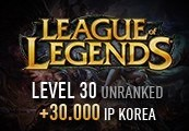 League of Legends Account – Level 30 – Unranked + 30.000 IP KOREA