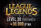 League of Legends Account – Level 30 – Unranked + 30.000 IP NA