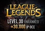 League of Legends Account – Level 30 – Unranked + 30.000 IP OCE