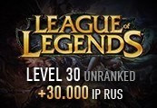 League of Legends Account – Level 30 – Unranked + 30.000 IP RUS