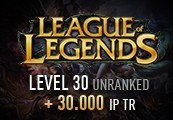 League of Legends Account – Level 30 – Unranked + 30.000 IP TR