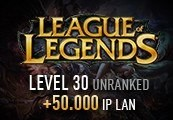 League of Legends Account – Level 30 – Unranked + 50.000 IP LAN