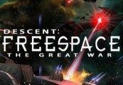 Descent: FreeSpace – The Great War Steam Gift