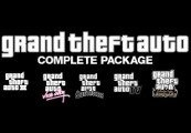 Grand Theft Auto Complete Package EU Steam Key