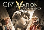 Sid Meier's Civilization V Gods and Kings DLC Steam Key (MAC Only)