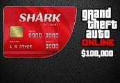Grand Theft Auto Online: Red Shark Cash Card – 100.000$ PC Activation Code
