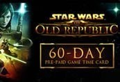 Star Wars: The Old Republic 60-Day Pre-Paid Time Card
