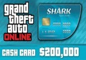 Grand Theft Auto Online: Tiger Shark Cash Card – 200.000$ PC Activation Code