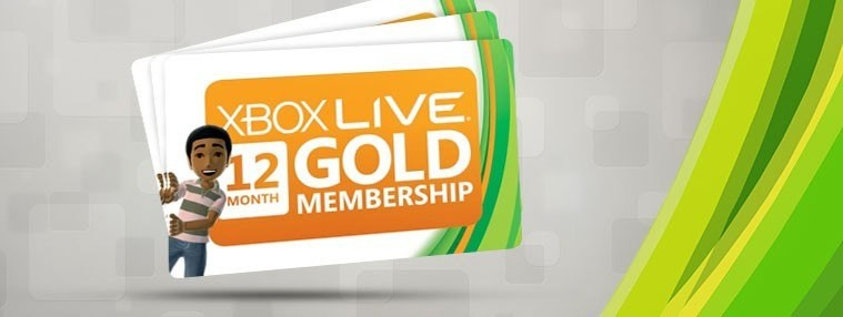 Xbox LIVE 12 Months Gold Subscription Card   | Kinguin