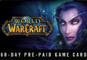 World of Warcraft WoW Gamecard 60 Tage US